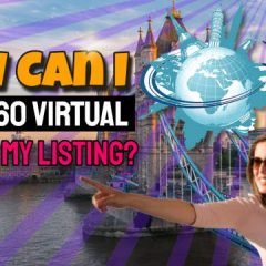 "Image introduces the IPPTS 360 image service with the question ""How can I add a 360 virtual image to my listing?"""